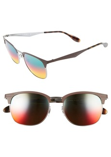 Ray-Ban 53mm Clubmaster Sunglasses