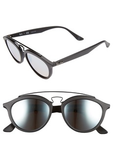 Ray-Ban 53mm Retro Sunglasses