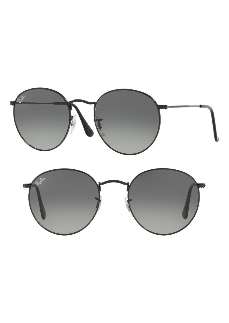 af246f44f2 Ray-Ban Ray-Ban 53mm Round Retro Sunglasses
