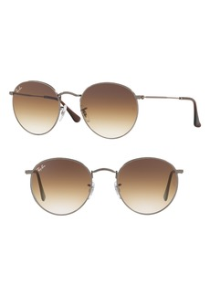 Ray-Ban 53mm Round Retro Sunglasses