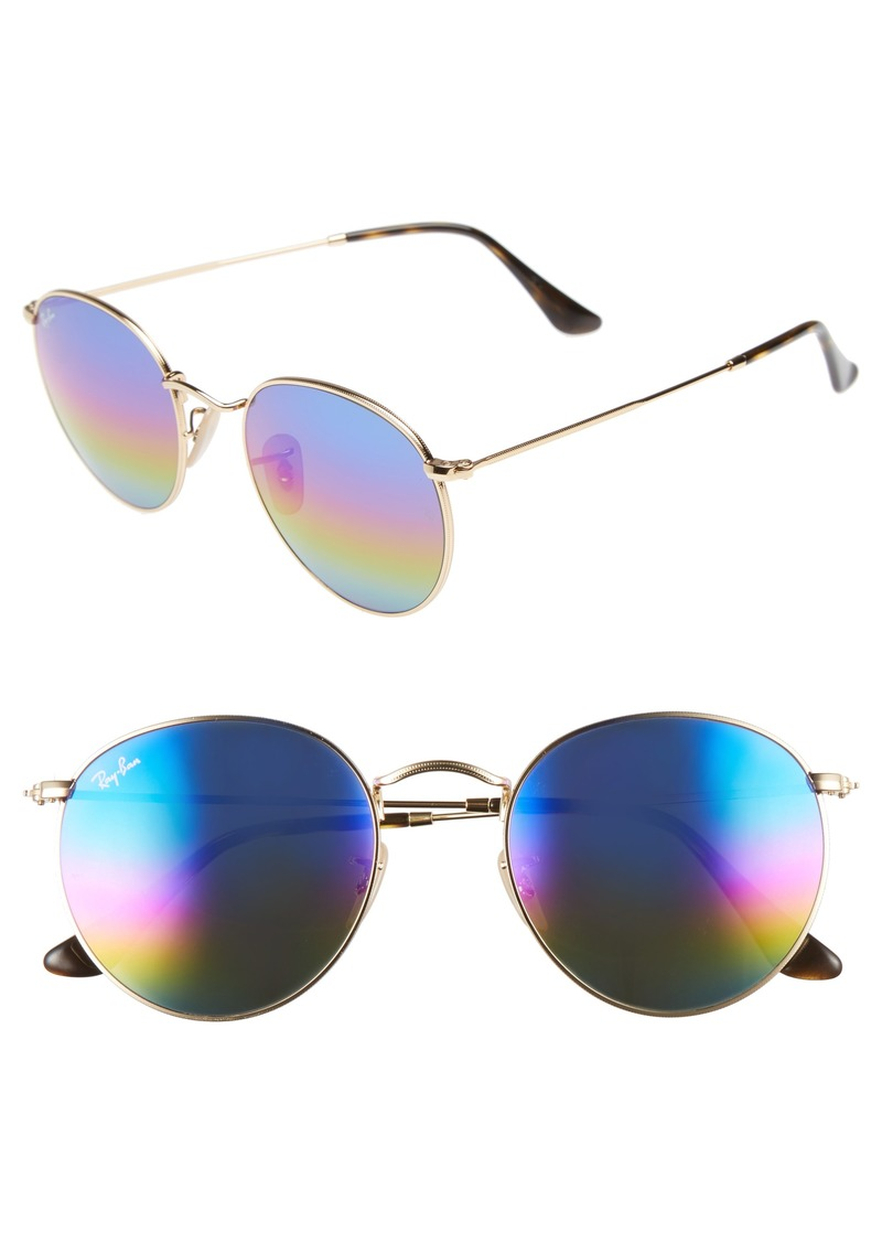 9b42ac576dda9 Ray-Ban Ray-Ban 53mm Round Sunglasses (Nordstrom Exclusive)   Sunglasses