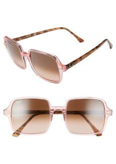 Ray-Ban 53mm Square Sunglasses