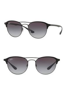 Ray-Ban 54MM Clubmaster Cat Eye Sunglasses