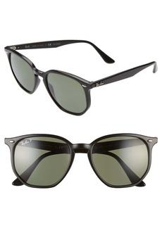 Ray-Ban 54mm Polarized Round Sunglasses