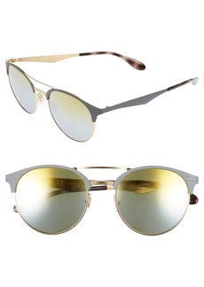Ray-Ban 54mm Round Sunglasses