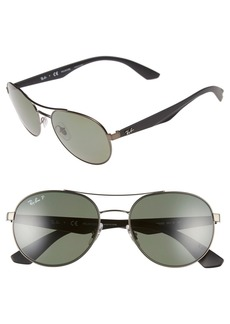 Ray-Ban 55mm Polarized Sunglasses