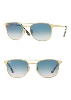 Ray-Ban 55MM Signet Metal Sunglasses