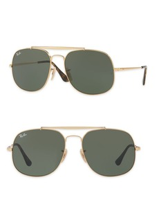 Ray-Ban 57mm General Aviator Sunglasses