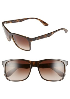 Ray-Ban 57mm Retro Sunglasses