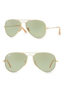 Ray-Ban 58MM Iconic Aviator Sunglasses