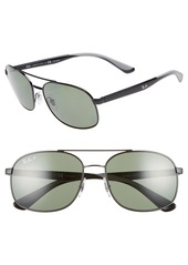 Ray-Ban 58mm Navigator Sunglasses