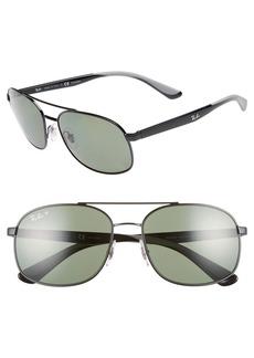 Ray-Ban 58mm Navigator Sunglasses