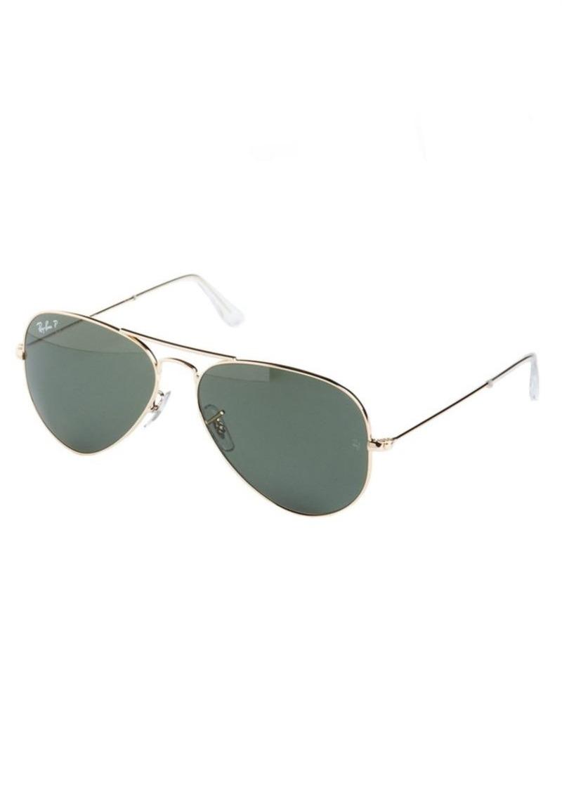 Ray-Ban RB3025 58MM Polarized Aviator Sunglasses