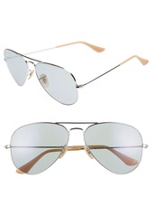 Ray-Ban 58mm Photochromic Aviator Sunglasses