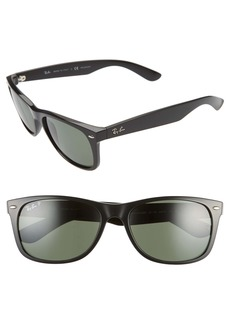 Ray-Ban 58mm Polarized Square Sunglasses