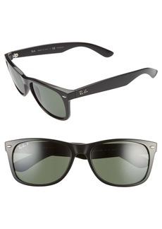 Ray-Ban 58mm Polarized Square Sunglasses