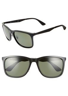 Ray-Ban 58mm Polarized Sunglasses