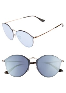 Ray-Ban 59mm Blaze Round Mirrored Sunglasses