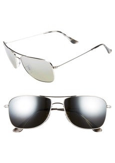 Ray-Ban 59mm Chromance Aviator Sunglasses