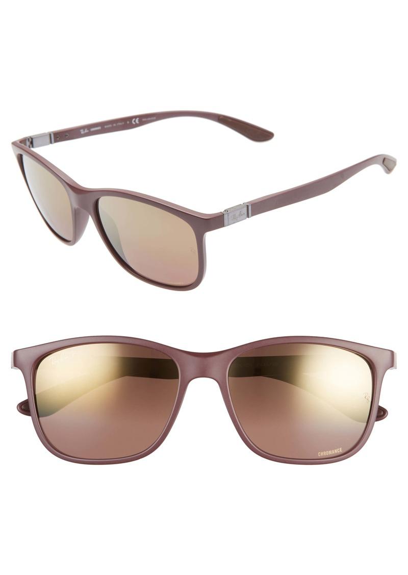 Ray-Ban 59mm Chromance Polarized Sunglasses