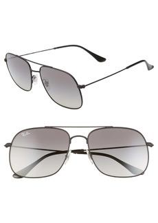Ray-Ban 59mm Gradient Navigator Sunglasses