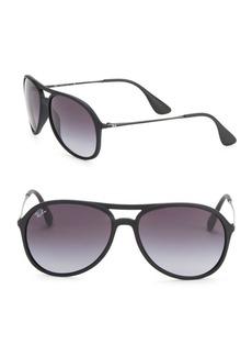 Ray-Ban 59mm Matte Aviator Sunglasses