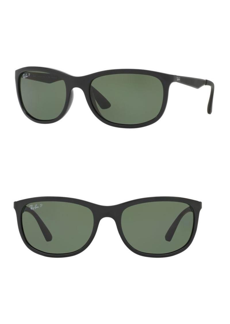 66cd3c9f51178 Ray-Ban Ray-Ban 59mm Rectangular Sunglasses