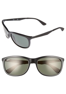Ray-Ban Active Lifestyle 59mm Rectangular Sunglasses