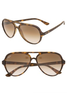 Ray-Ban 59mm Resin Aviator Sunglasses