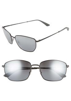 Ray-Ban 60mm Polarized Sunglasses
