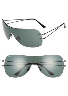 Ray-Ban 60mm Shield Sunglasses