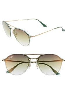 Ray-Ban 61mm Gradient Aviator Sunglasses