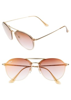 Ray-Ban 61mm Gradient Aviator Sunglasses