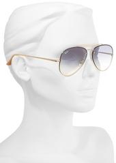 Ray-Ban 61mm Gradient Lens Aviator Sunglasses