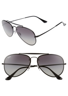 Ray-Ban 61mm Gradient Lens Aviator Sunglasses