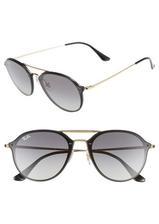 Ray-Ban 62mm Gradient Lens Aviator Sunglasses