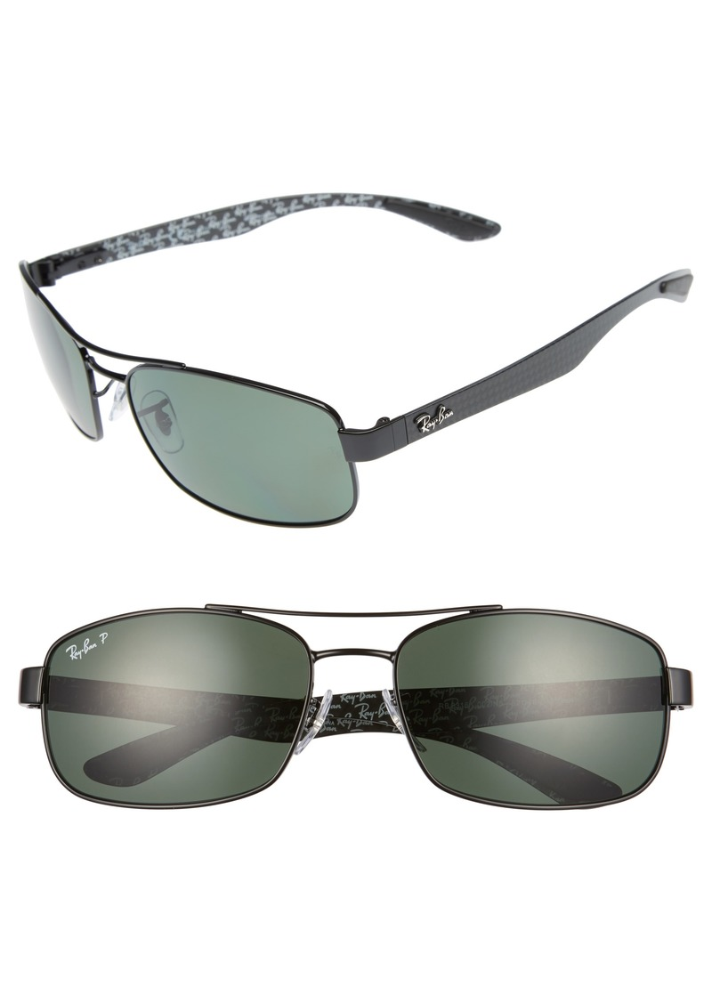 Ray-Ban 62mm Polarized Sunglasses