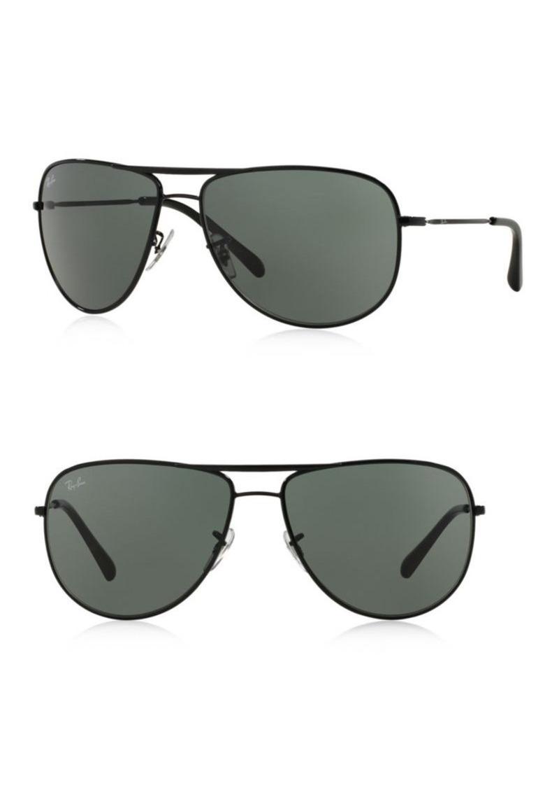 Ray-Ban 63MM Pilot Sunglasses