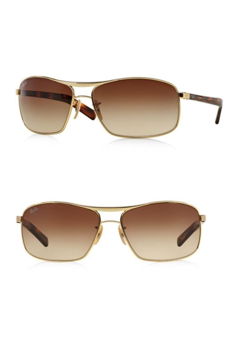 Ray-Ban 64MM Square Sunglasses