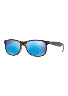 Ray-Ban Andy 55MM Square Sunglasses