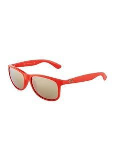 Ray-Ban Andy Rectangular Flash Sunglasses
