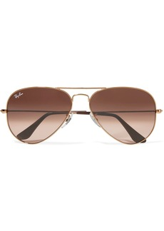Ray-Ban Aviator bronze-tone sunglasses