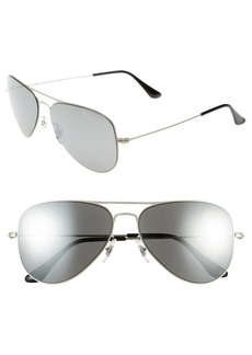 Ray-Ban 'Aviator Flat Metal' Sunglasses