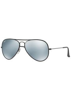 Ray-Ban Aviator Fu Sunglasses, RB3025JM 58