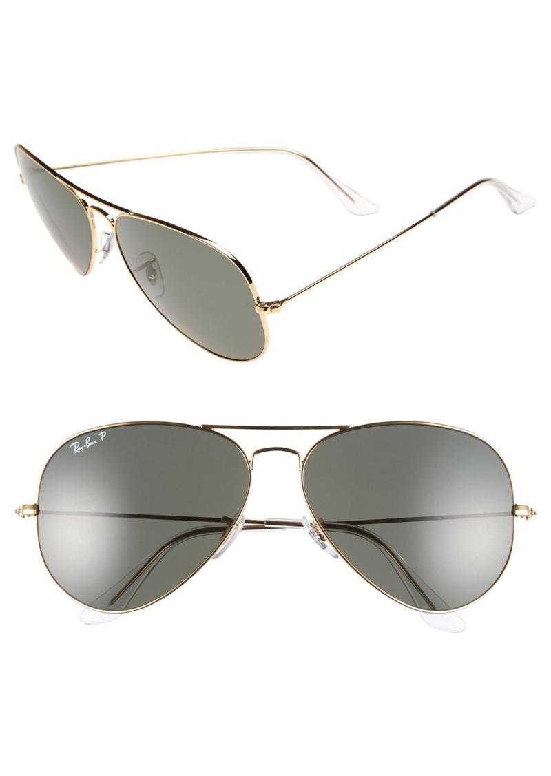 Ray-Ban Ray-Ban  Aviator  Polarized 62mm Sunglasses   Sunglasses 579e1249e5
