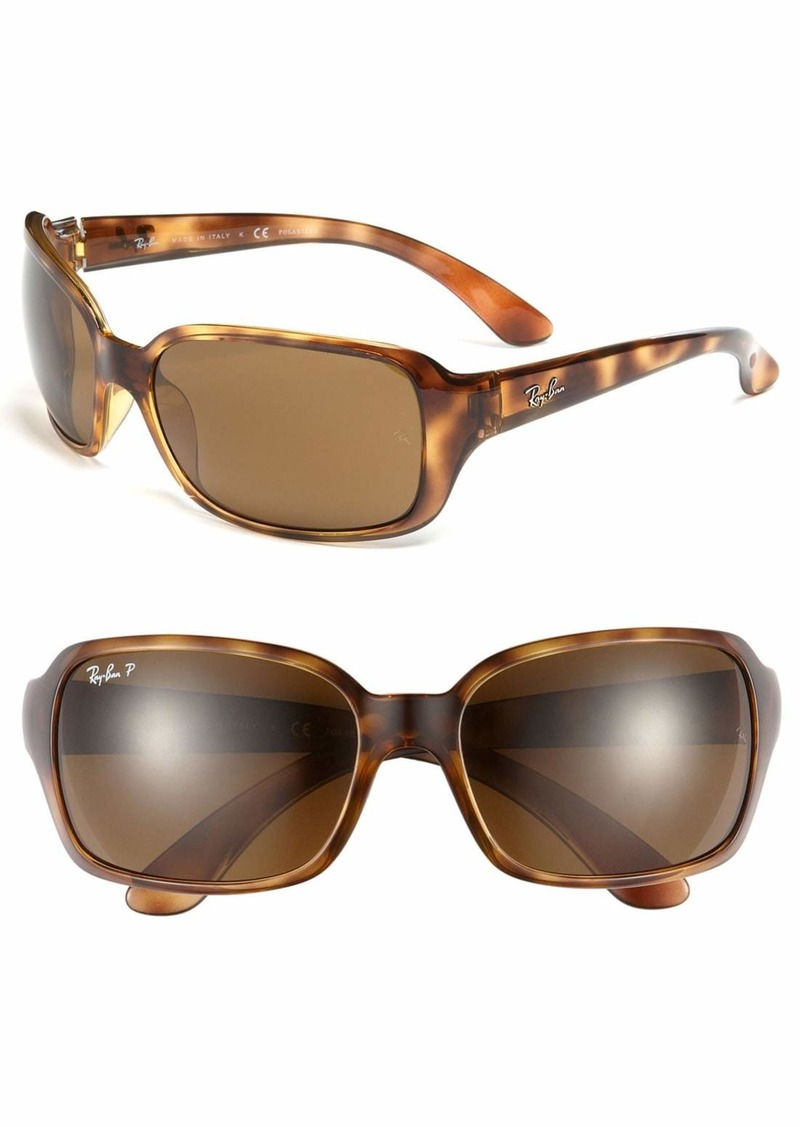 Ray-Ban 'Big Glamour' 60mm Polarized Sunglasses