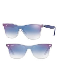 Ray-Ban Blaze 52mm Wayfarer Shield Sunglasses