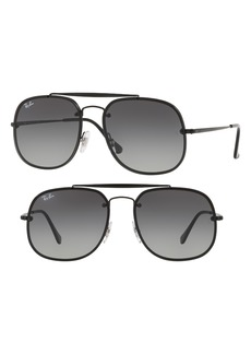 Ray-Ban Blaze 58mm Aviator Sunglasses
