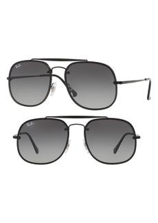 Ray-Ban Blaze 58mm Aviator Sunglasses