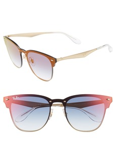 Ray-Ban Blaze Clubmaster 47mm Sunglasses